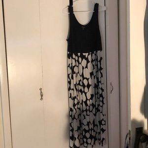 Kensie long flowing dress